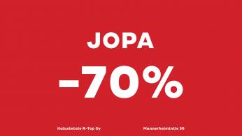Kaikki tuotteet -50%-70%!!
