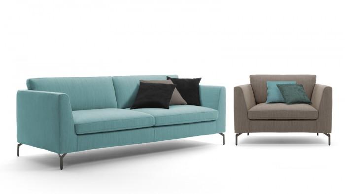Aria 2-ist. sohva ja nojatuoli
