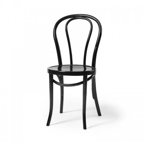 Wasa-tuoli, musta